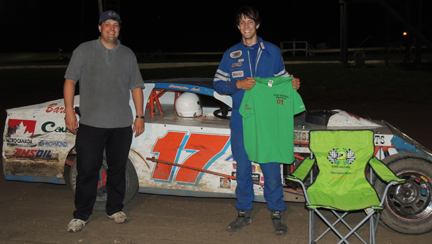 Photos by Alyssa Strachan. Christopher Leek took the feature win and claimed an unprecedented fourth championship in a row. He needed to win the race in order to win the championship.