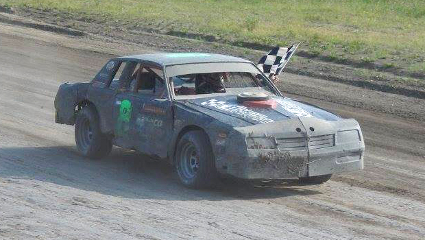 Photos by Swan Valley Stock Car Club - Mark Maga - 8 Cylinder Feature Winner