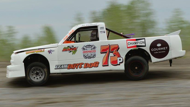 Rene Poluyko - Northern Super Truck feature winner