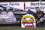 Rick Delaine - WISSOTA Modified feature winner (Photo courtesy of Heather Morey)