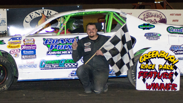 Shawn Teunis - WISSOTA Street feature winner (Photo courtesy of Heather Morey)