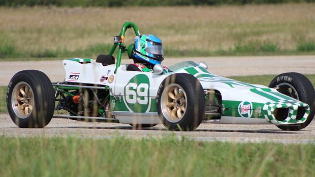 Murray Burkett - Formula F series race 1, 2, 5 winner - Chinook MK F1600