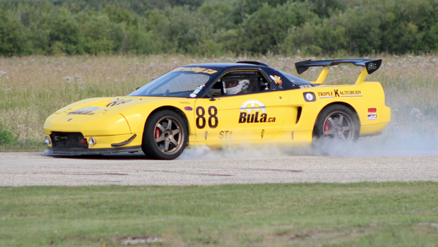 Kevin Lachance - Touring series race 1, 4, 5, 6 winner - 1992 Acura NSX