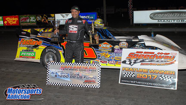 Donny Schatz - NLRA Can-Am Cup winner - photo by Tim Johnson
