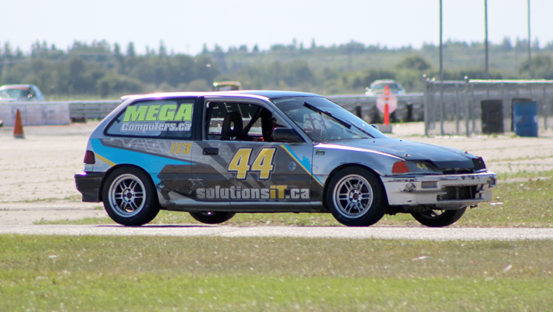 Clint Sharples - Austrailian Pursuit winner - 1991 Honda Civic